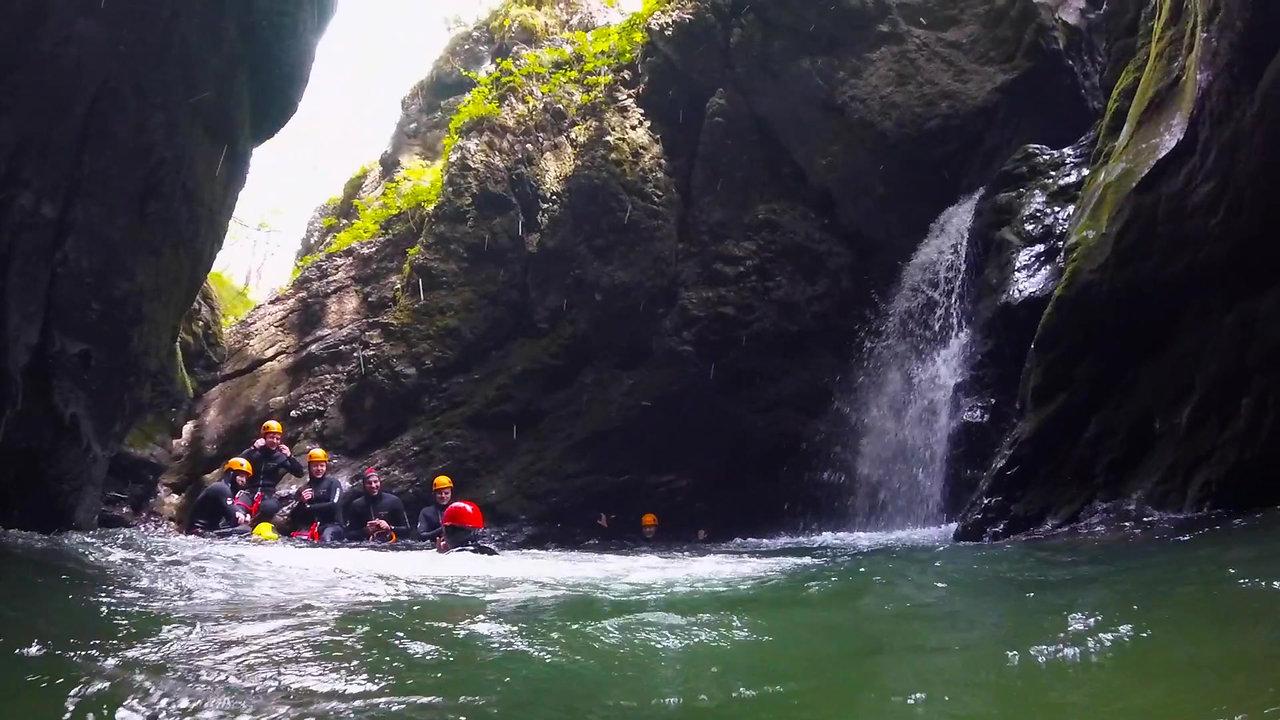Grmecica Canyoning Bled