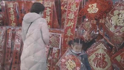 Lunar New Year Market Tour