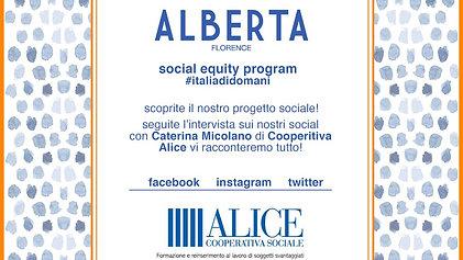 Alberta Florence - Sartoria San Vittore / Cooperativa Alice