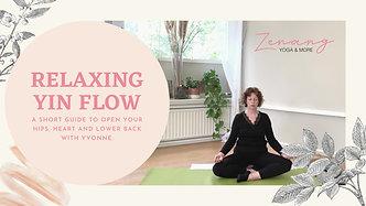 Relaxing Yin Flow-hips