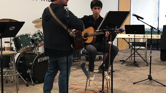 Ilan and Mr. Romero play Beaumont