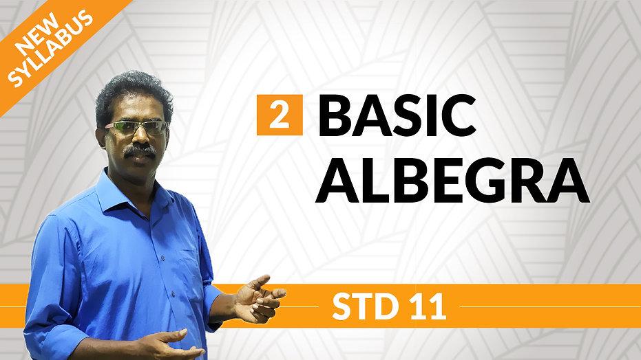 Basic Algebra | Chapter 2