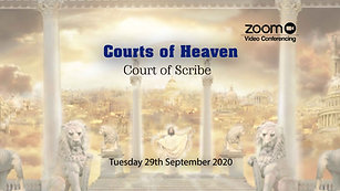 Courts of Heaven - 29 September '20