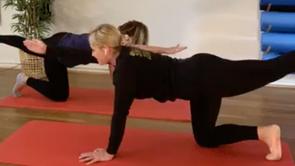 Live Pelvic Stability & Balance Workout