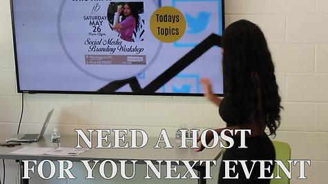 Nicole Briana Event Host