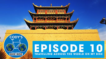 Cycling Western China with Goondog! - FULL POWER BIKE RIDE (E:10)