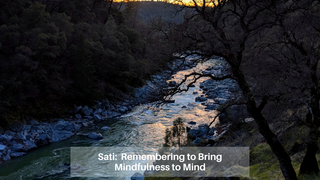 04 :: April 11: Sati: Remembering to bring mindfulness to mind
