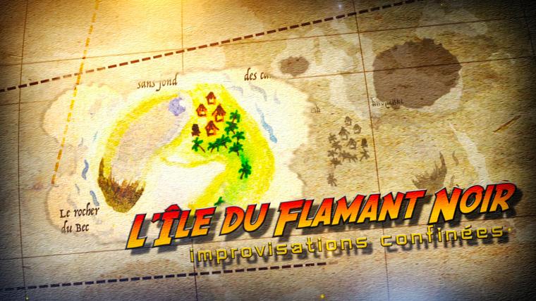 L'Île du flamant noir.