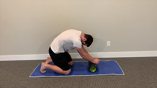 Foam Roll Assisted Thoracic Extension