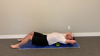 Thoracic Spine Foam Rolling