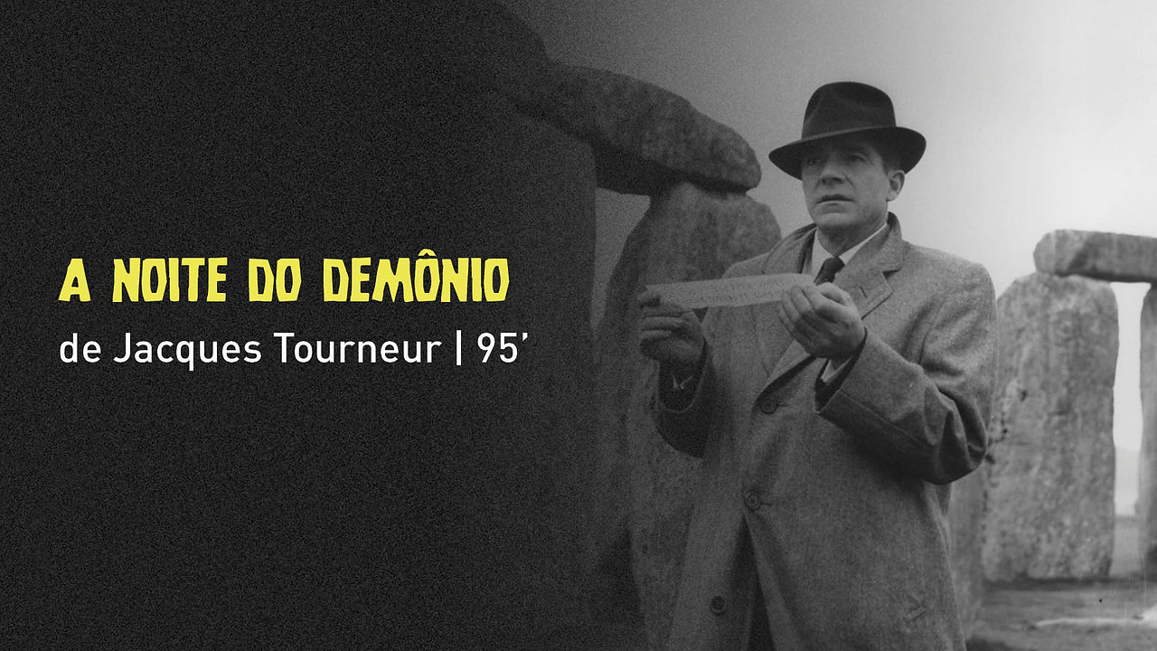 """""""A Noite do Demônio"""", de Jacques Tourneur"""