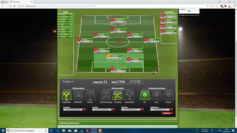 Tool für Fussballcup