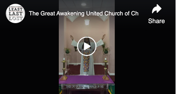 The Great Awakening United Church of Christ on Facebook Watch