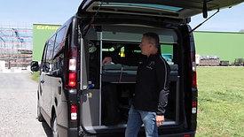 Nissan Wasser&Stromanschluss und Kofferraum
