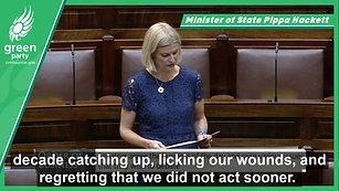 Seanad Speech on Agriculture: Pippa Hackett 12.07.2020