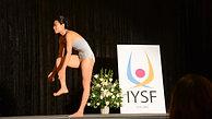 Chaukei at International Yoga Asana Championship 2013 - 2014