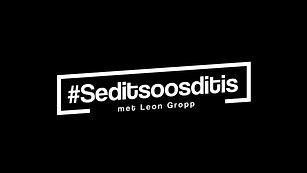 #seditsoosditis - Aflewering no.2