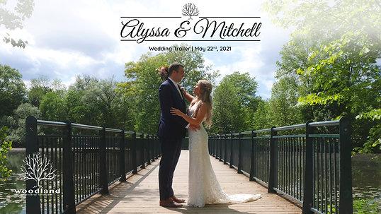 Alyssa & Mitch - Wedding Trailer