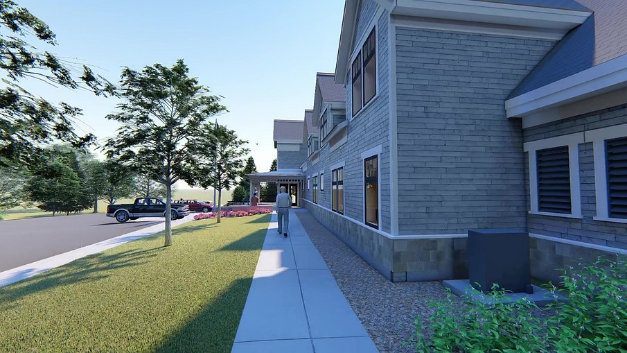 Oak Bluffs Town Hall Rendered Video