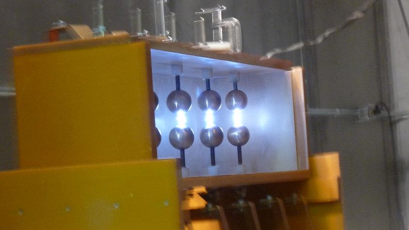 CNT 5-Stage Marx Generator, EPD Spark-2/Spark-3
