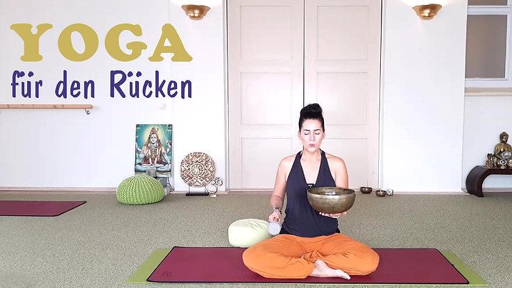 Live-Stunde 35 Yoga f d Rücken 27.11.20