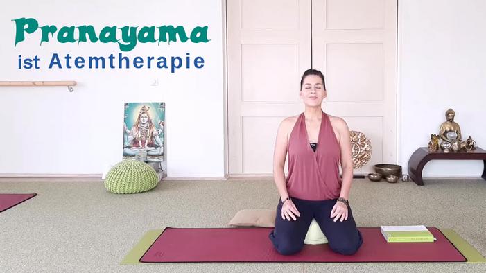 Live Stunde 31. Yoga Pranayama ist Atemtherapie vom 13.11.20