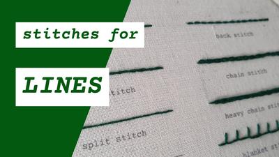 line stitches