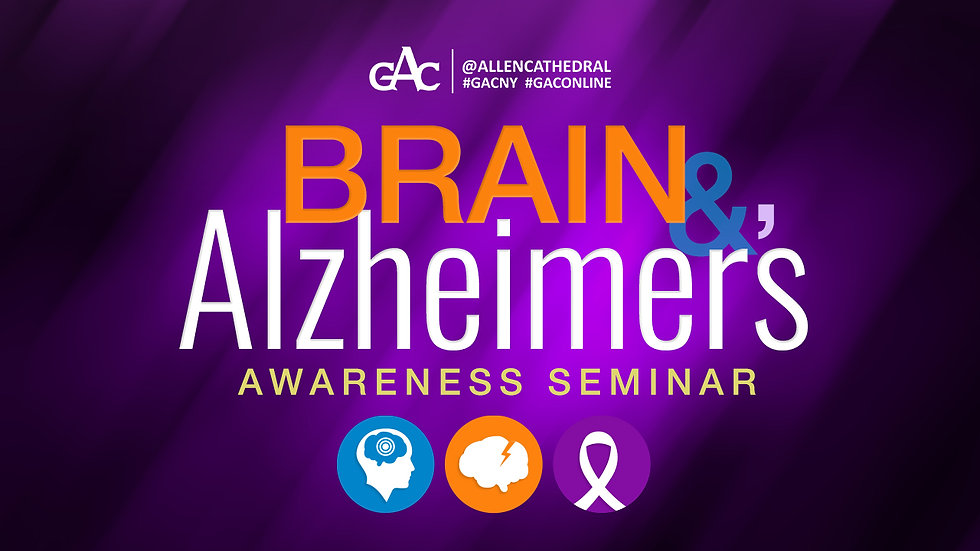 Brain & Alzheimer's Awareness Seminar