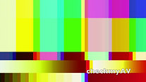 Pink Noise with moving Color Bars