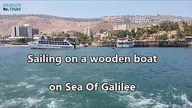שייט בסירת עץ בכנרת - חוויה מיוחדת לכולם