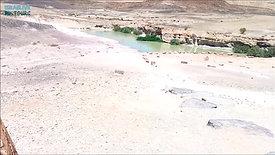 אבן רוח ומים - נקודה מפתיעה במכתש רמון