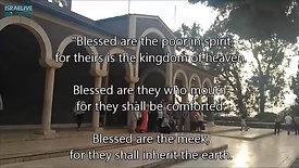 הר האושר - הכנסייה החשובה ושיחה עם הכומר