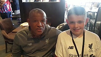 Former Liverpool Player Howard Gayle