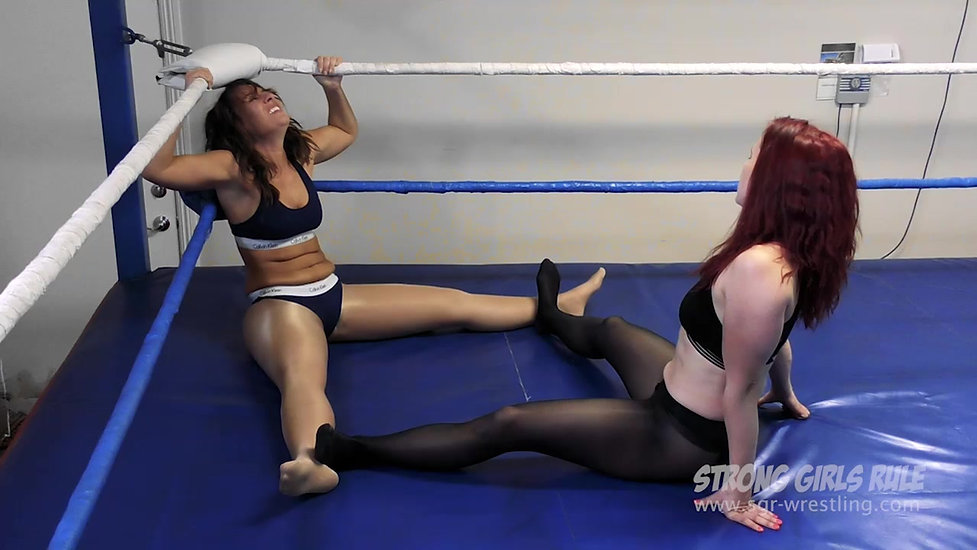 SGR0157 Allie Parker dominated by Scorpion - Dirty Tactics Pro Match in the Ring