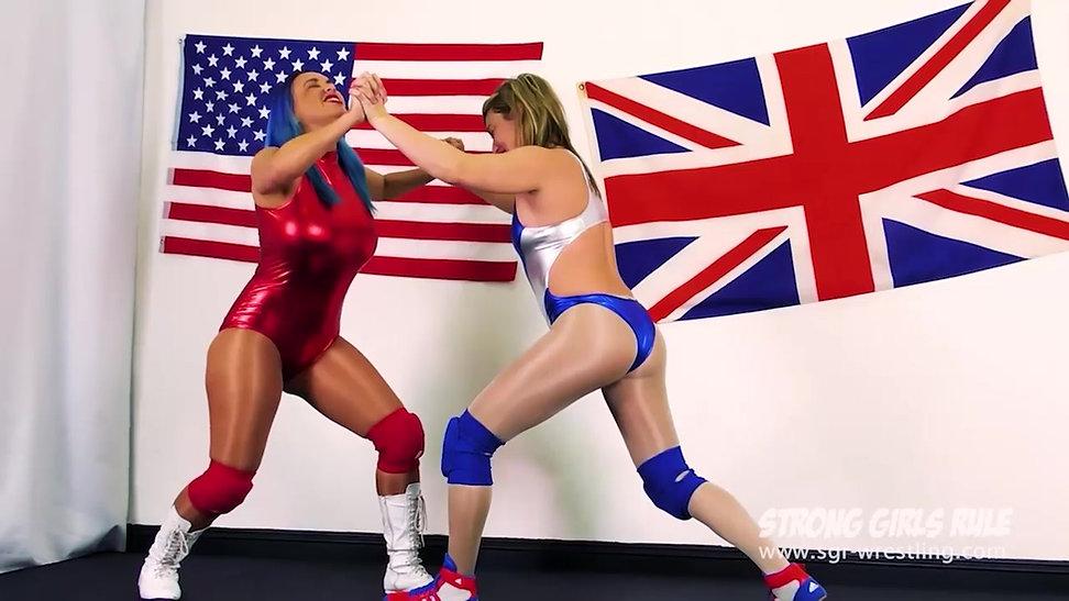 SGR0252 2for1 USA vs UK - Megan Jones vs Axa Jay & Goddess Anat vs Blaze