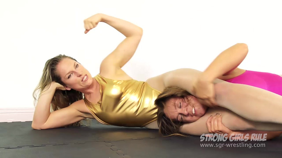 SGR0162 Anastaxia demolishes London - Female Pro Wrestling