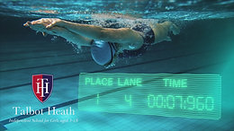 Talbot Heath Swimming Social Media Post