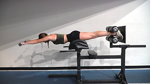 GHD:Plank Front & Lateral Raise