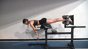 GHD Plank:Front Raise