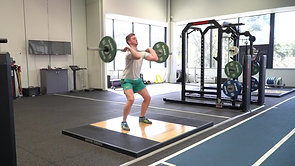 Clean & Jerk (Squat Catch)