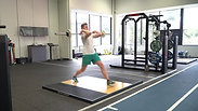 Barbell Lunge (Front Loaded)