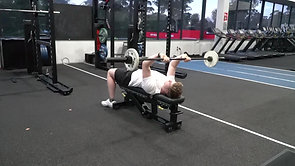 Supine Tricep Extensions