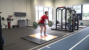 Hang Split Snatch