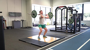 Clean:Squat:Jerk (Squat Catch)