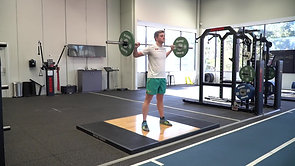 Back Squat:Jerk