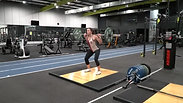 Back Squat:Jerk (Squat Catch)