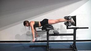 GHD Plank:Lateral Raise