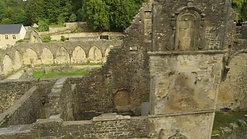 Abbaye Orval vue du ciel