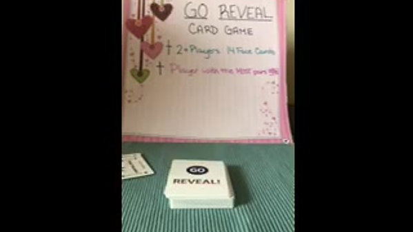 GO REVEAL- Simple Card Game