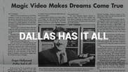 Dallas Has It All